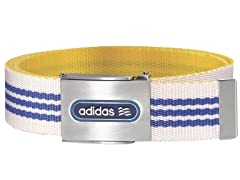 Reversible Belt - Blue/White/Yellow