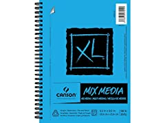"""Canson XL Series Mix Paper Pad, 5.5"""" x 8.5"""" Side Wire"""