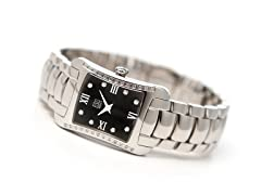 Ladies ESQ Verona Black Dial Watch