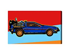 Warhol Delorean (Mulitple Sizes)