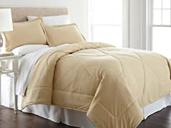 Micro Flannel® Comforter Set-Chino-3 Sizes