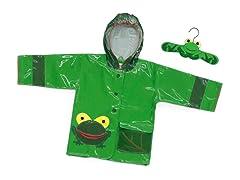 Frog Rain Coat (2T-6X)