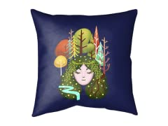 """Mother Nature"" Outdoor Cushion"