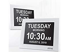 American Lifetime Day Clock XL Impaired Vision Clock