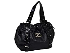 Parinda FLEUR Handbag, Black