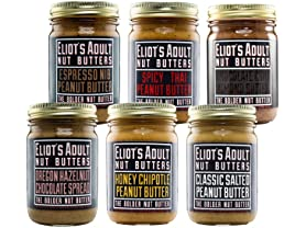 Eliot's Adult Nut Butters Sampler (6)