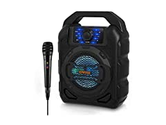 Earise T15 Portable PA System with Wired Mic