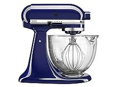 KitchenAid 5Qt Tilt-Head Stand Mixer-Blue