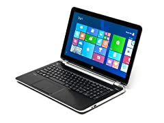 "HP 15.6"" Quad-Core TouchSmart Notebook"