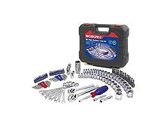 WORKPRO Drive Socket Wrench Set, 101-piece Mechanics Tools Kit