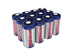 Tenergy Propel 3V CR123A Lithium Battery - 12