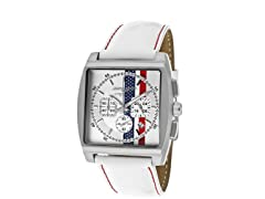 Men's American Flag Chronograph Watch