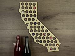 Beer Cap Map: California