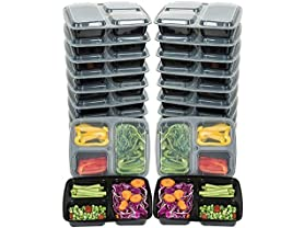 Mealcon Plastic Meal Prep Containers