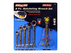 Ratcheting Wrench Set, SAE