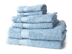 Egyptian Cotton 6Pc Towel Set - 4 Colors