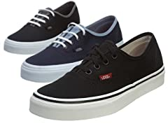 Vans Authentic Skate Shoes - 3 colors