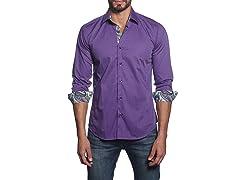 Jared Lang Dress Shirt, Purple