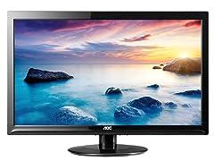 "24"" 1080p Slim LED Monitor"