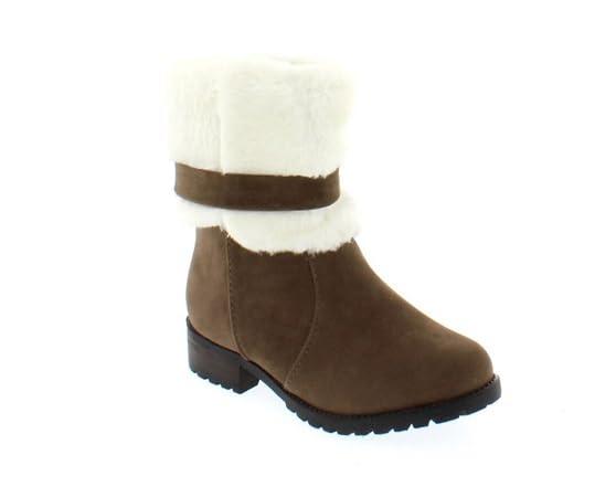 shoes of soul faux fur boots fashion