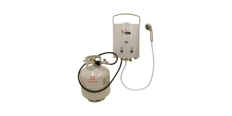 Triton Water Heater Instant Shower : Camp chef triton water heater shower