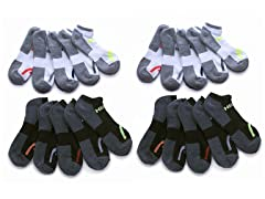 HEAD No Show Athletic Socks 20-Pairs
