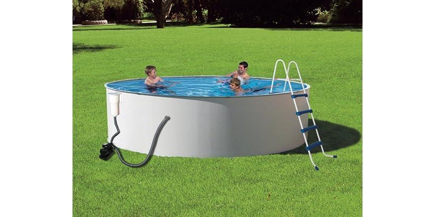 Presto 15 ft round 52 in deep pool pkg for 15 ft garden pool