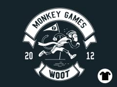 2012 Woot Monkey Games - Navy