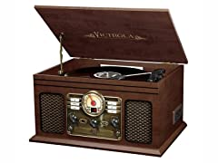 Victrola Classic 6-in-1 BT Entertainment Center