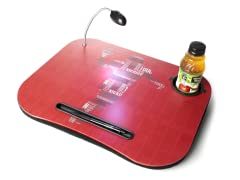 Red Football Laptop Cushion with Light