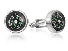 SD Man Compass Cufflinks