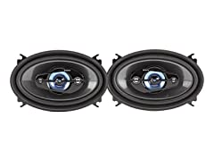 "Xplod 4"" x 6"" 140W 4-Way Speakers (Pair)"