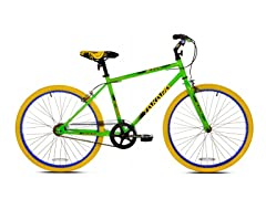 "Takara Blacktop 24"" Fixie Bike Green"