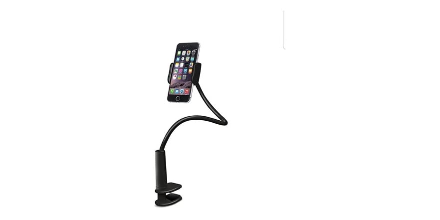 Aduro Solid-Grip Adjustable Universal Gooseneck Smartphone Stand (Your Choice Color)   WOOT