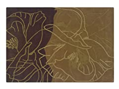 TRIO Chocolate and Caramel Rug-3 Sizes