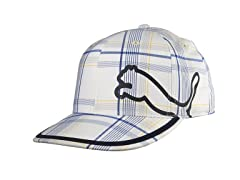 Puma Monoline Fitted Hat - White/Blue