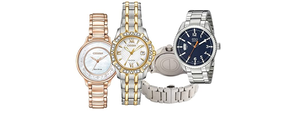 Citizen and Movado Watches