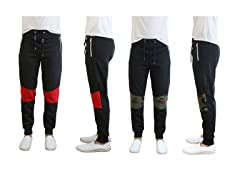GBH Mens Knee Patch 2PK Fleece Pants