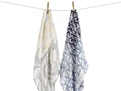2 Pack Bamboo Swaddle Blanket - Batik