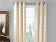 Behrakis Chevron Panels Set of 2- 2 Colors