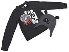 Boys Dog Hat & Tee (Size 5/6)