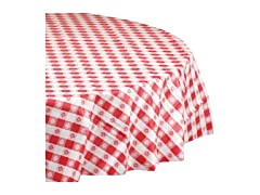 Plastic Round Tablecover, Case of 12