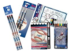 Los Angeles Dodgers MLB Team Notepad Set