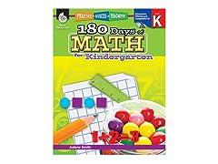 180 Days of Math for Kindergarten