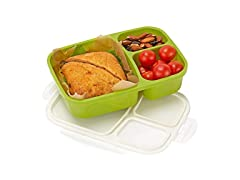 Leakproof 3 Compartment Bento Lunch Box