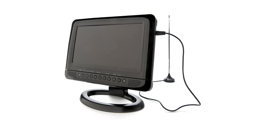 Portable T V S : Gpx quot portable tv dvd player