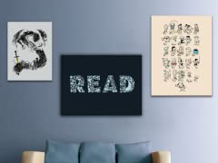 Literary Canvas Art