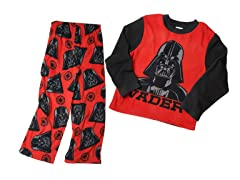 Darth Vader 2 Pc Fleece Set (4-8)