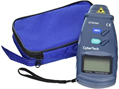 CyberTech Digital Photo Laser Tachometer