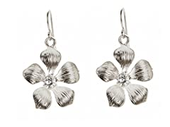 Relic RJ2298041 Silver Flower Earrings